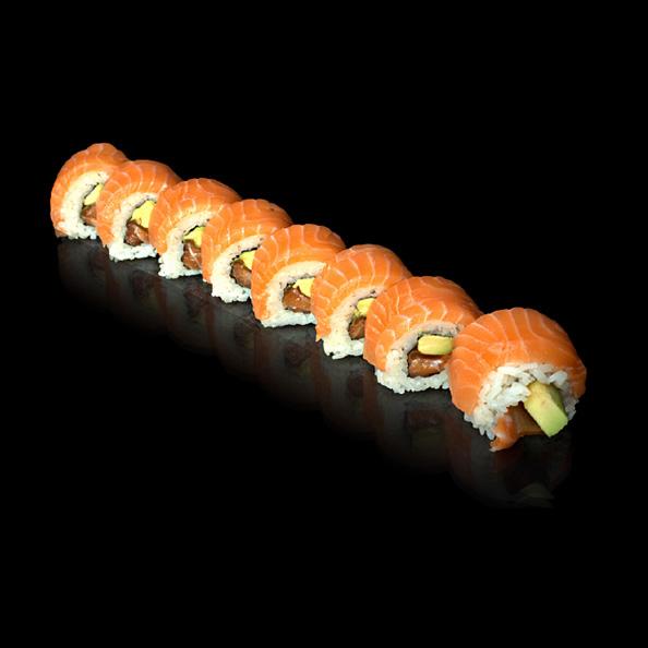 6 Double salmon