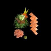 sashimi losos