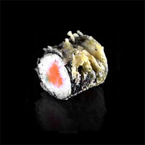 tempura s lososem